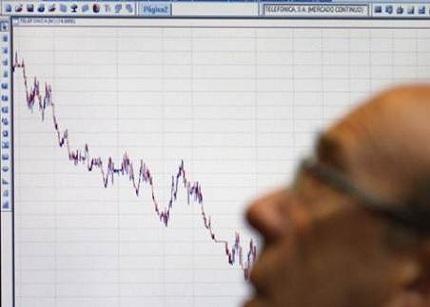La confianza empresarial baja 4,1 puntos en el primer trimestre del año