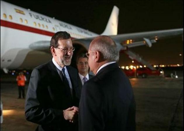 Rajoy visita Chile y Perú buscando ampliar la presencia de las pymes españolas
