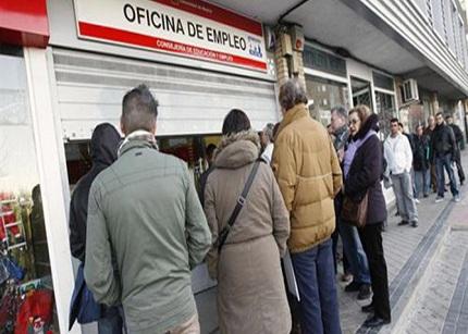 El desempleo llegará en España a un 27,9% en 2013