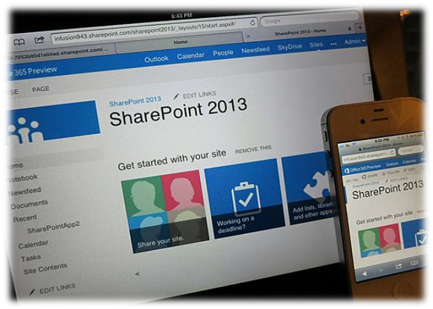 Aplicaciones para el ipad para poder acceder a Sharepoint