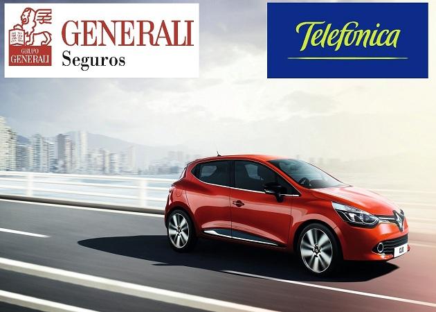 """Telefónica y Generali lanzan la póliza de seguros """"Pago como conduzco"""""""
