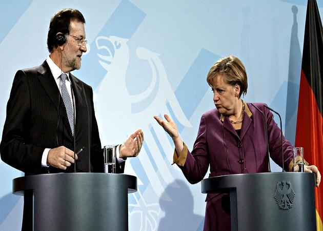Merkel se compromete a ayudar a España a mejorar su sistema de formación profesional