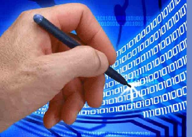 Sólo un 1% de las empresas utiliza la firma electrónica