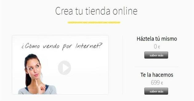 Crea tu propia tienda online con Tiendalista