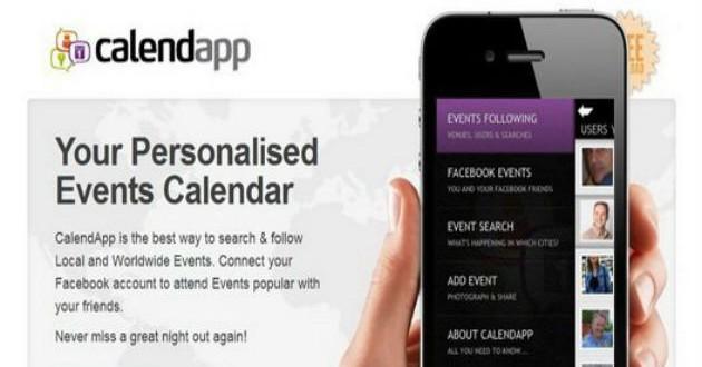Calendapp lanza una nueva versión de su app para la búsqueda de eventos