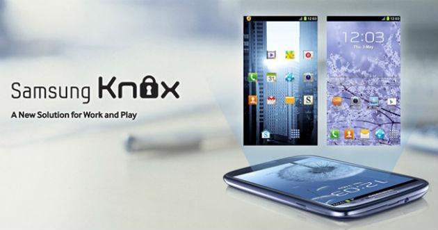 KNOX, la respuesta de Samsung a la tendencia del BYOD