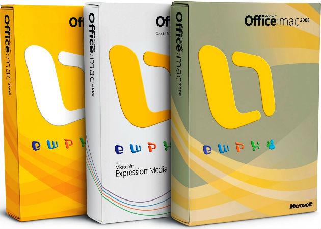 Microsoft dejará de dar soporte al Office adaptado al Mac 2008
