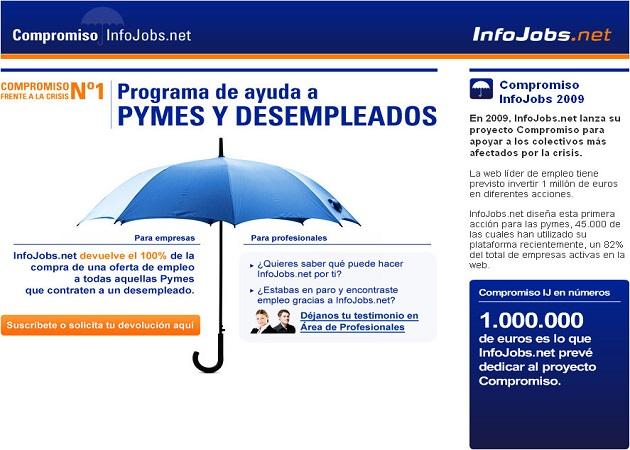 """""""Compromiso InfoJobs"""" cumple cuatro años"""