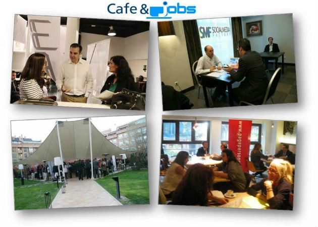 """""""Café & Jobs"""" ayudará a los madrileños a encontrar un empleo"""