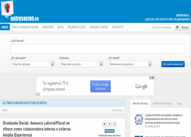 Encuestra a tu socio ideal en EntreSocios.es