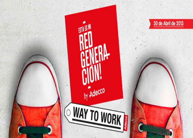 Trabajadores de Adecco salen a la calle para asesorar a desempleados