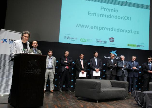 """La Caixa clausura su séptima edición de los premios """"Emprendedor XXI"""""""