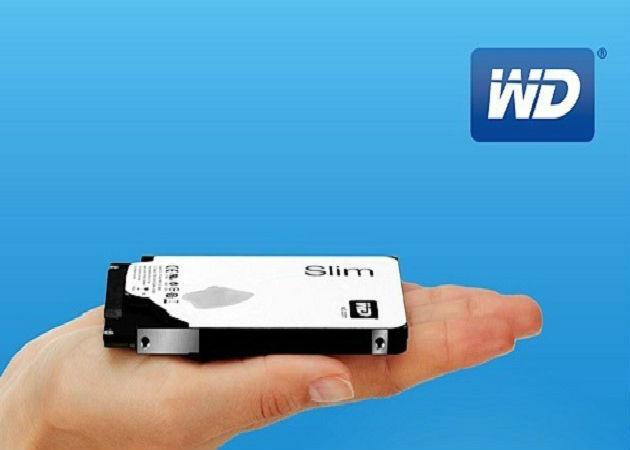 Western Digital muestra el HDD de 1 TB más delgado del mundo