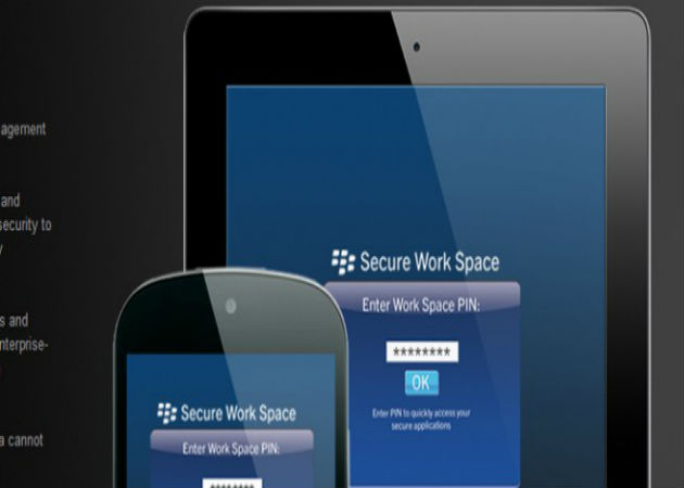 BlackBerry lanza Secure Work para proteger los dispositivos iOS y Android
