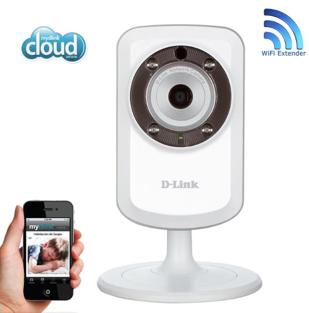 Controla tu negocio con la cámara D-Link DCS-933L y la aplicación D-ViewCam