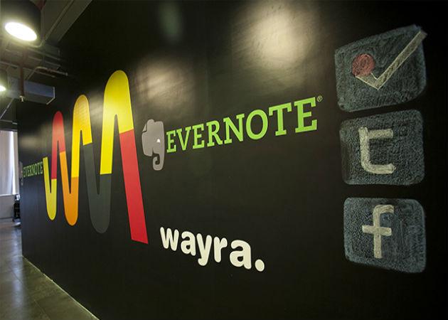 Wayra firma un acuerdo con Evernote para beneficio de las empresas