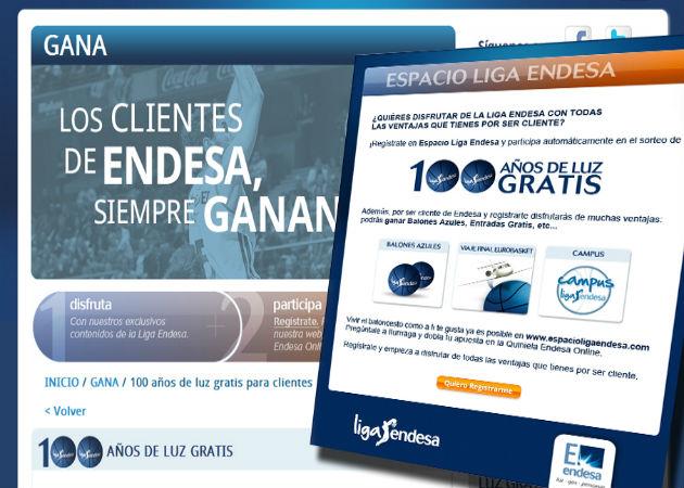 """Los """"100 años de luz gratis"""" de Endesa, publicidad engañosa sin letra pequeña"""