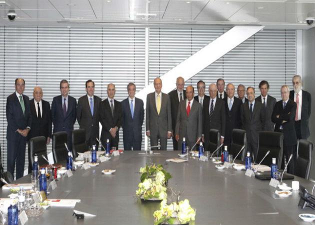 Rajoy se reunirá con grandes empresarios para analizar la economía