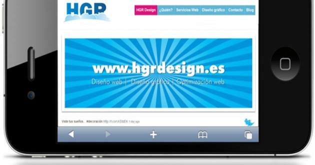 Crea la versión móvil de tu página web
