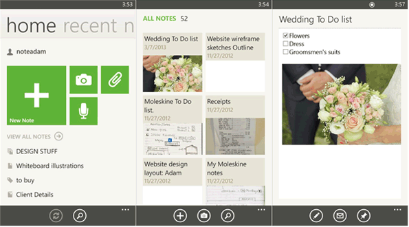 Evernote-windows-phone