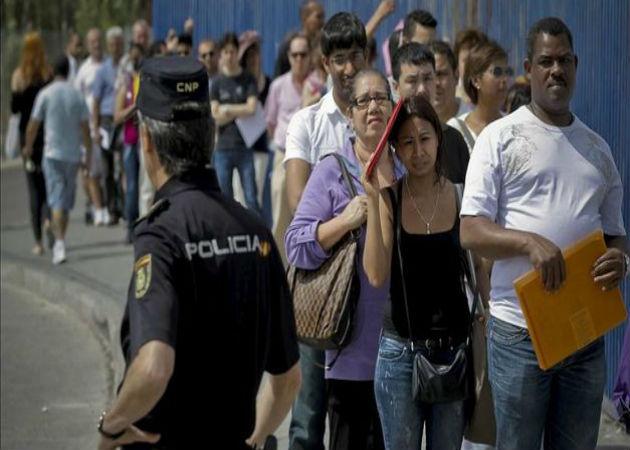 España es el país que más extranjeros emplea de toda la UE