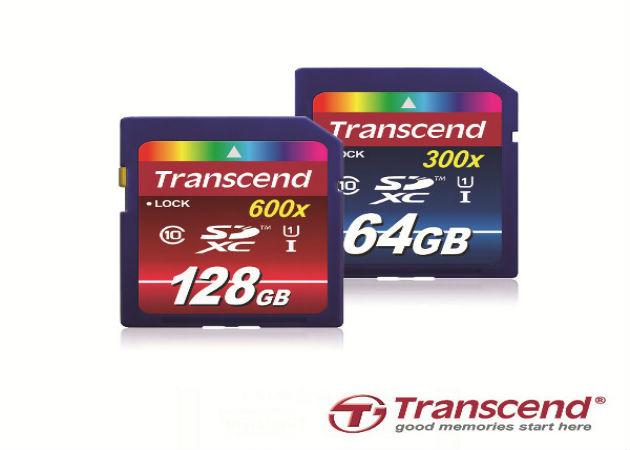 Transcend lanza las tarjetas SDXC de alta capacidad