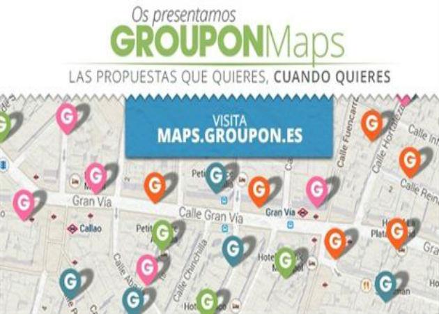 Groupon lanza Groupon Maps, servicio de búsqueda de ofertas por ubicación