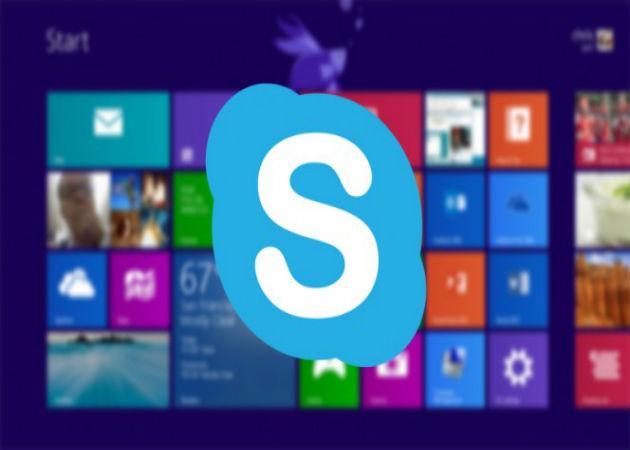 Skype estará integrado de inicio en el nuevo Windows 8.1