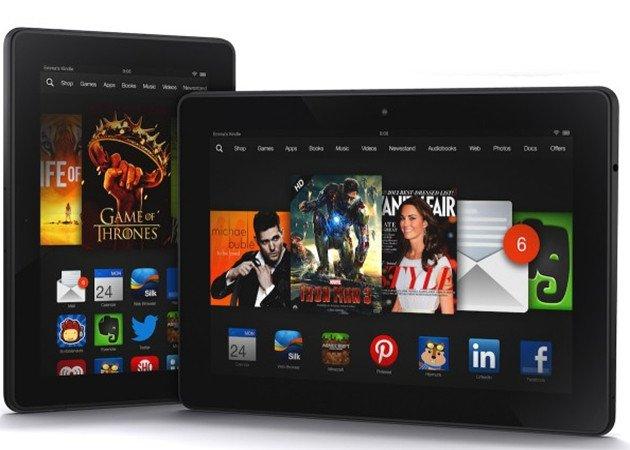 Amazon lanza sus Kindle Fire HDX, perfectos para empresas