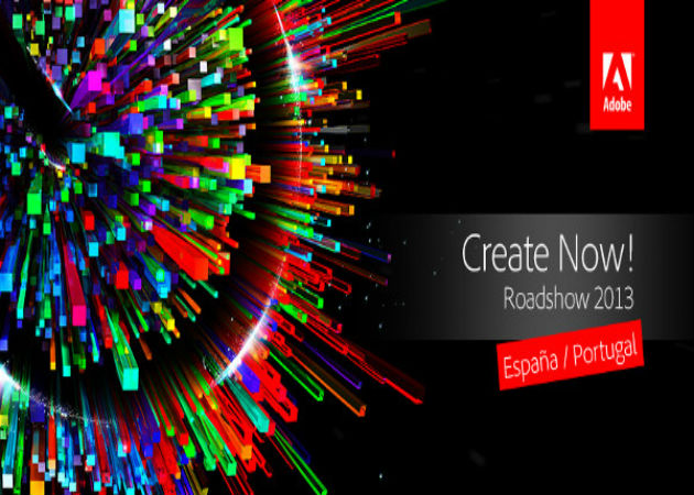 Adobe anuncia el inicio del Create Now Roadshow 2013