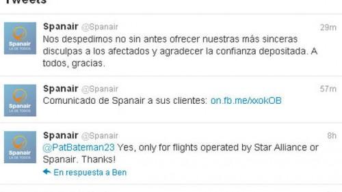 Spanair-Twitter