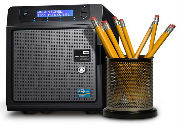 Nuevos servidores ultracompactos WD Sentinel DS5100 y WD Sentinel DS6100 para pymes