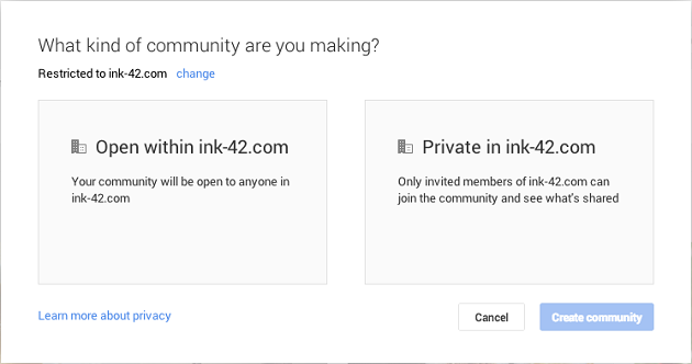 Restricted Communities