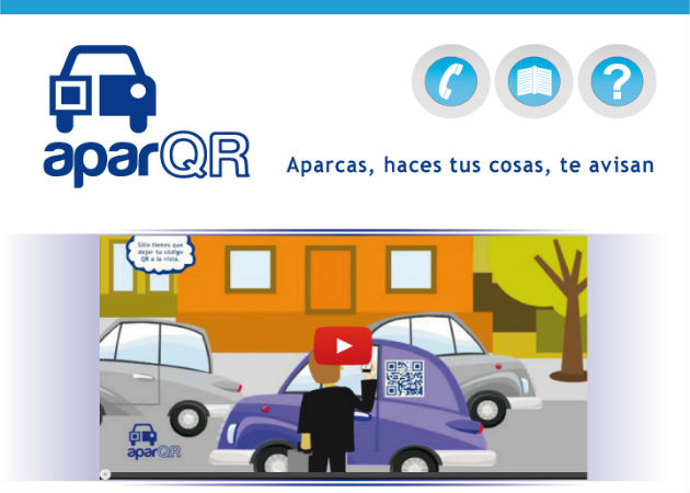 aparQR, el primer avisador de doble fila del mercado