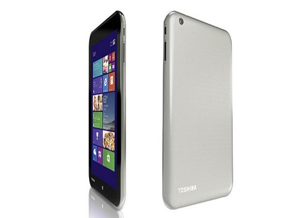 Toshiba lanza en España la primera tableta de 8 pulgadas con Windows 8.1