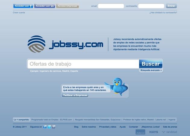 Jobssy incorpora la actividad en las redes sociales a su algoritmo de búsqueda de talento