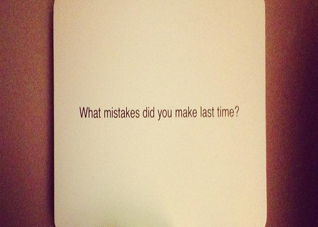 Los errores más grandes que no debes cometer este año