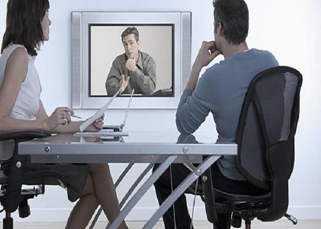 Las entrevistas de trabajo por videoconferencia cada vez más en auge