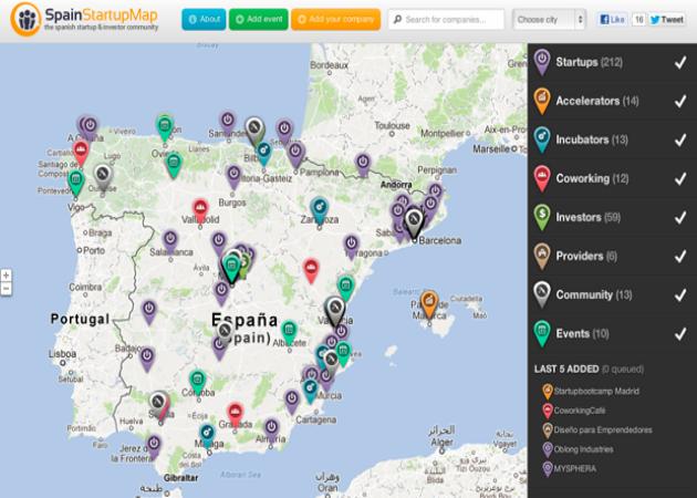 1.582 son las startups que habría en España