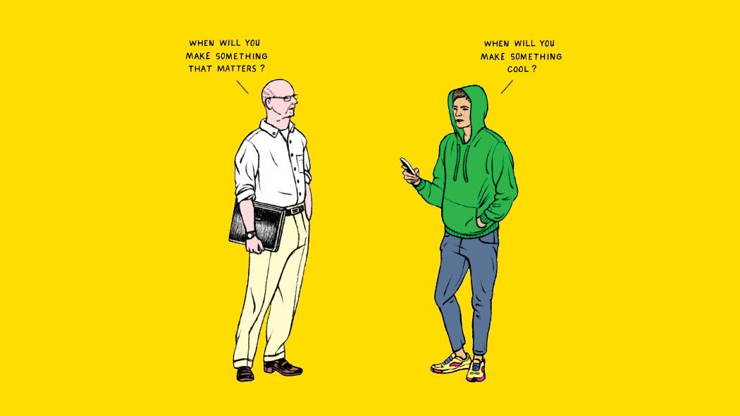 Ilustración con la que el New York Times quiere demostrar lo insustancial de muchas startups de Silicon Valley