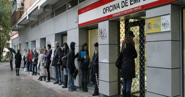 El paro no bajará en España del 21% en los próximos cinco años
