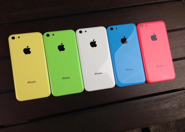 El iPhone 5C de 8 GB llega a España por 549 euros