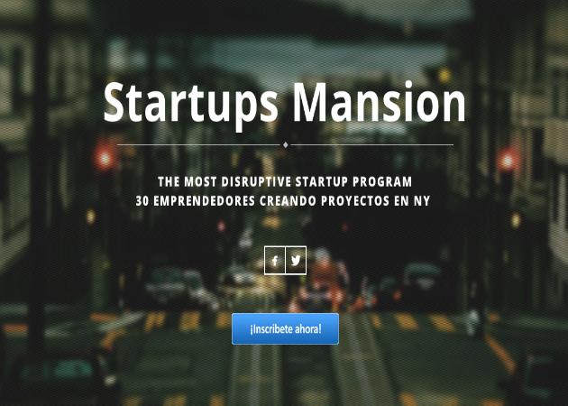 StartupsMansion llevará a 30 emprendedores españoles a Nueva York