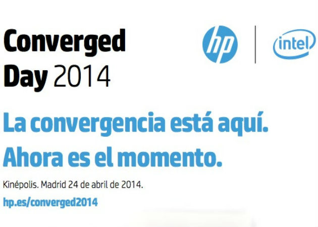 HP e Intel organizan en Madrid el Converged Day 2014