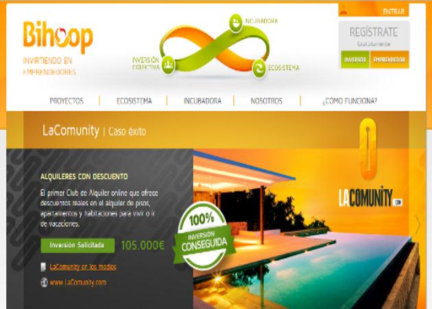 "Bihoop inaugura en Barcelona una ""IncubAceleradora"""