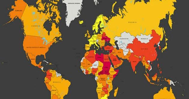 ¿Cuáles son los peores países del mundo para trabajar?