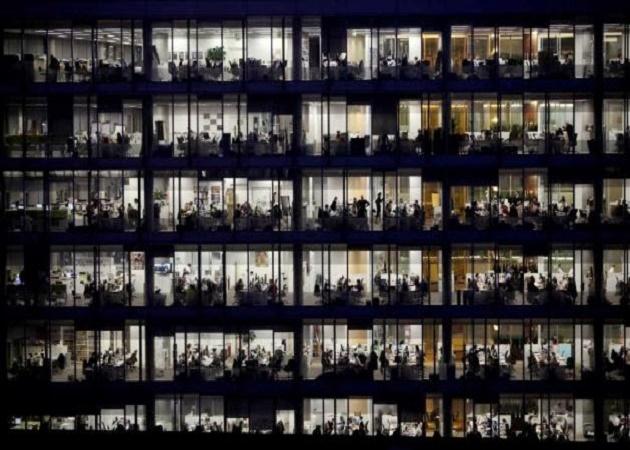 El 62% de los trabajadores se sienten encerrados en sus oficinas