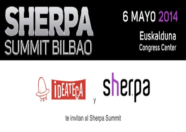 El próximo 6 de mayo Bilbao acogerá el Sherpa Summit 2014