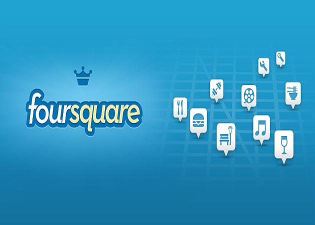 Foursquare permite localizar a tus amistades más próximas