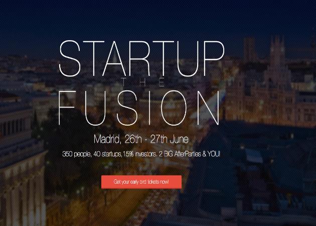 Startup The Fusion reunirá a startups e inversores en Madrid